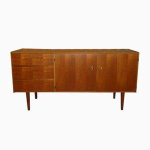 Mid-Century Walnut Veneer Sideboard, 1960s