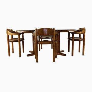 Chaises de Salon par Rainer Daumiller pour Hirtsalls, 1970s, Set de 5