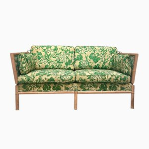 Bambus 2-Sitzer Schlafsofa, 1960er