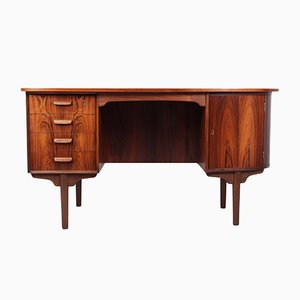 Mid-Century Danish Rosewood Desk from H.P. Hansen, 1960s