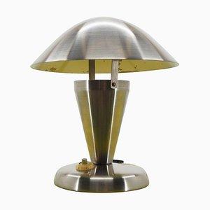 Art Deco Bauhaus Tischlampe aus Chrom, 1930er