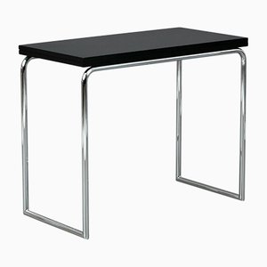 Bauhaus Black B 109 Folding Side Table by Marcel Breuer for Thonet, 2000s