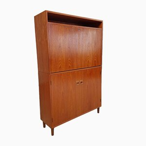 Mid-Century Danish 2-Piece Cabinet Unit from Horsens Hjornebo