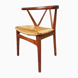Mid-Century Danish Dining Chairs by Henning Kjaernulf for Bruno Hansen, Set of 6