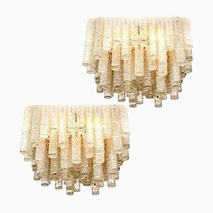 Große Moderne Deckenlampen von Doria Leuchten, 1960er, 2er Set