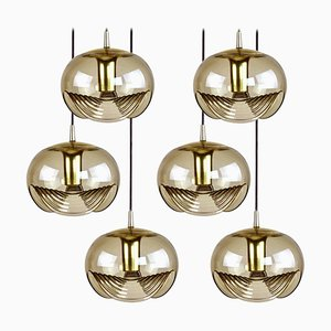 6-Light Fixture by Koch & Lowy, 1970s
