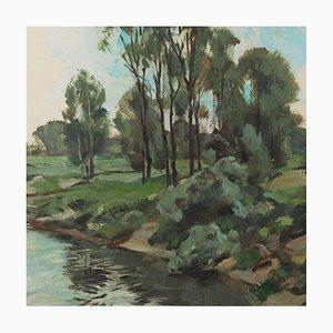 Ernsland Schacht in Pentrup Gemälde von Ernst Hare