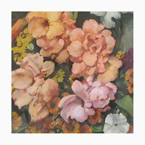 Still Life of Flowers Painting by Ernst Hase