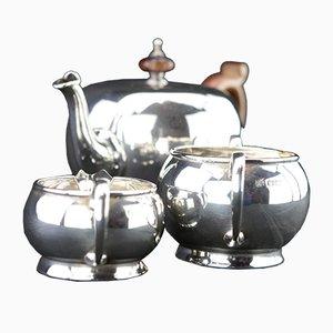 Teekanne aus 925er Sterling Silber, 1920er