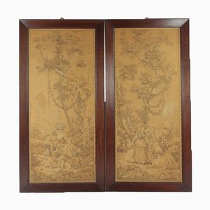 Tapestry Antique Pictures, Set of 2