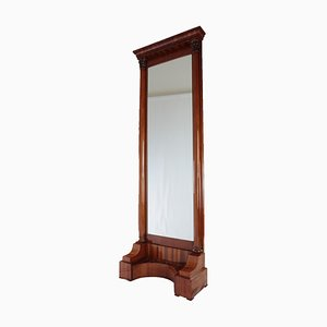 Biedermeier Floor Mirror