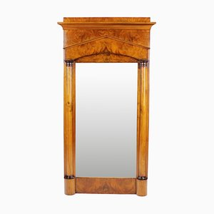 Biedermeier Pillar Mirror