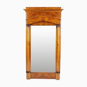 Espejo de pilar Biedermeier