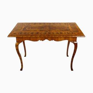 Antiker Nussholz Wurzelholz Spieltisch