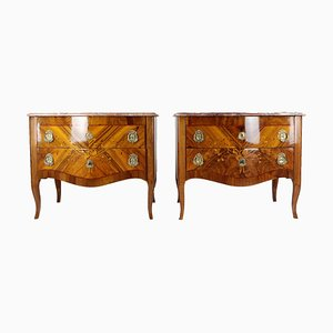 Rococo Commodes, Set of 2