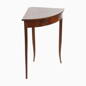 Antique Mahogany Veneer Side Table