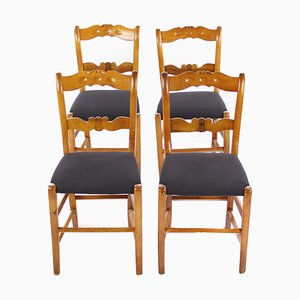 Biedermeier Chairs, Set of 4