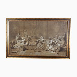 Antique Mythological Scene