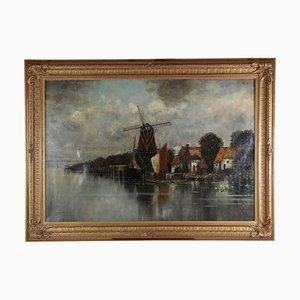 Niederländische Landschaft von Joseph Sedlmeier
