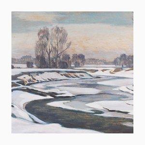 Wintertag auf der Erns von Ernst Bahn