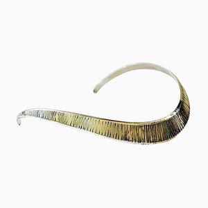 Halsband aus Sterlingsilber von KE Palmberg für Alton, Schweden, 1973