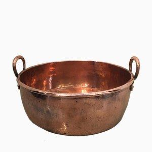 Large Georgian Copper Pan