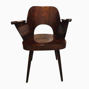 Armchair by Oswald Haerdtl for Ton