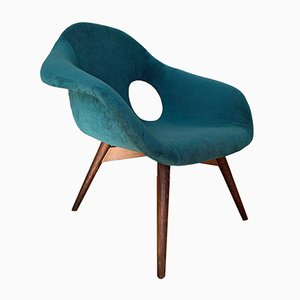 Casper Shell Armchair from Miroslav Navratil, 1960s