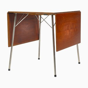 Danish Modern Model AJ-3601 Drop-Leaf Desk by Arne Jacobsen for Fritz Hansen, 1950s