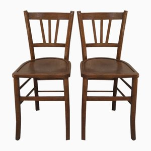 Mid-Century Bistro Chairs, Set of 6
