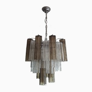 Murano Glass Tronchi Chandelier, 1990s