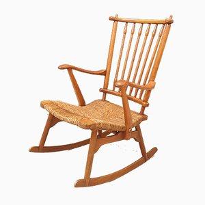 Rocking Chair par De Ster Gelderland, 1950s