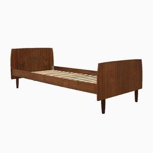 Sofá cama danés Mid-Century de teca, años 60