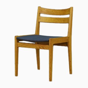 Danish Ash Dining Chairs, 1970s, Set of 4