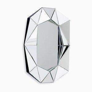 Kleiner silberner Diamond Spiegel von Reflections Copenhagen