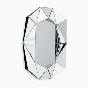 Small Diamond Silver Mirror by Reflections Copenhagen
