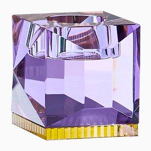 Ophelia Purple T-Light Holder by Reflections Copenhagen