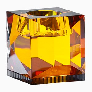 Ophelia Amber T-Light Holder by Reflections Copenhagen