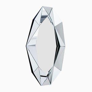 Specchio Diamond XL argentato di Reflections Copenhagen