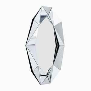 XL Diamond Silver Mirror by Reflections Copenhagen