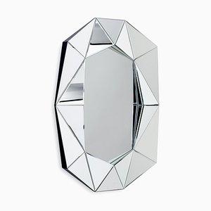 Großer silberner Diamond Spiegel von Reflections Copenhagen