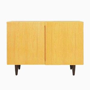 Vintage Danish Ash Veneer Cabinet, 1970s