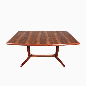Mid-Century Oval Rosewood Dining Table from Skovby, 1960s