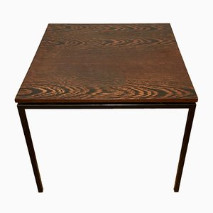 Square Rosewood Coffee Table, 1950s