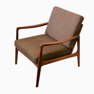 Model FD109 Lounge Chair by Ole Wanscher for France & Søn / France & Daverkosen, 1960s