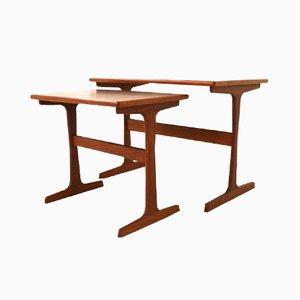 Tavolini a incastro Mid-Century di Arne Wahl Iversen per Vinde Mobelfabrik