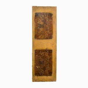 Italienisches Dekoratives Paneel aus Holz mit Intarsien, 19. Jh