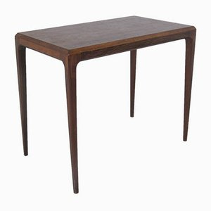 Vintage Scandinavian Rosewood Side Table by Johannes Andersen for CFC Silkeborg, 1950s