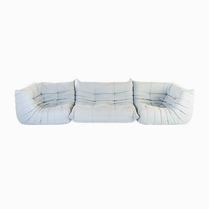 Vintage Togo Sofa Set by Michel Ducaroy for Ligne Roset, 1970s