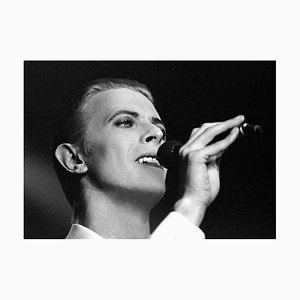 Photograph of David Bowie in Stockholm 1976 by Stefan Almers, 2016